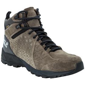Jack Wolfskin Cascade Hike LT Texapore Chaussures Mi-Hautes Homme, khaki/phantom